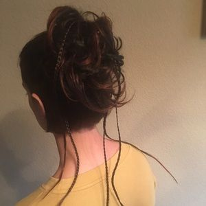 Bun hair piece accessory
